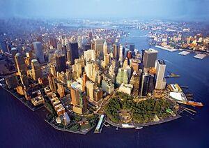 Puzzle Pappe Trefl 1000 Teile New York Big Apple USA - NEU 10222
