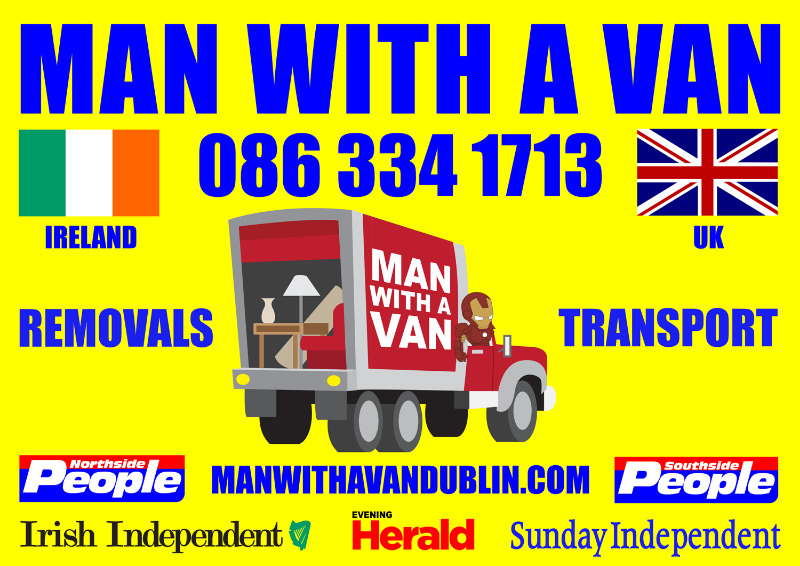 MAN WITH A VAN 086 334 1713