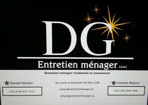 DG entretien ménager résidentiel et commercial