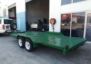 NEW 2.9TON HEAVY DUTY CAR CARRIERS 15FT DECK NEW TYRES & RIMS Grafton Clarence Valley Preview