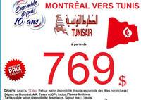 TUNIS EN PROMO AVEC TUNISAIR à partir de 769$