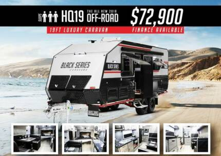 Introducing the All-New Black Series HQ19 Luxury Caravan Warwick Farm Liverpool Area Preview