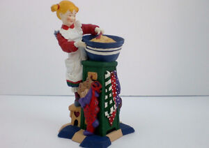 Dept.56 Figurine of MADELINE making Cookies Windsor Region Ontario image 1