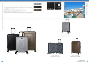 Brand New 3 pcs hardcover Luggage set