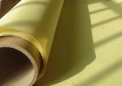 "High Aero Quality 135gsm Kevlar Fabric Aramid fiber Cloth plain 39.4"" width"