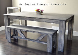 Brand New Classic Farmhouse Dining Table.