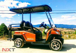 SC Carts NXT Electric Golf Carts - Design Your Own!