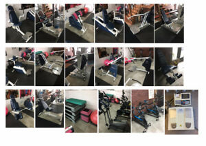 Urgent, liquidation de gym, machine de musculation