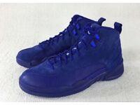 Nike Air Jordan 12 Deep Royal Blue, Size 6.