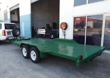 NEW 15FT BEAVER TAIL CAR CARRIER NEW TYRES & RIMS Logan Area Preview