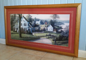 """""""Reminiscing"""" print by Bill Saunders"""