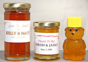 HONEY & CANDLE FAVOURS -- Weddings, Showers, Parties, Events