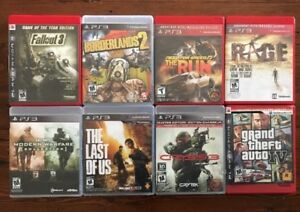 PS3 Bundle Lot Of 8 Games! Including COD MW Collection,The Last