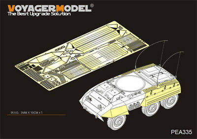 For ALL VOYAGERMODEL 1//35 PEA076 PE for  Side Skirts for Stug III Ausf G