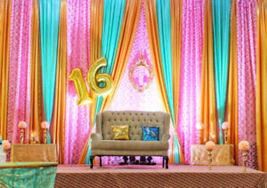 Affordable Party Decors & Wedding Services starts at $250!!!