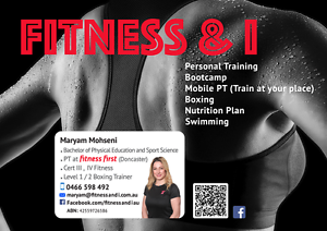 Fitness and I Doncaster Manningham Area Preview