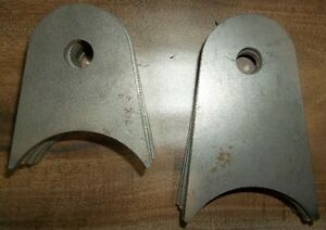 "3"" DIAMETER BRACKETS WITH 9/16"" BOLT HOLE, 1/4"" THICK"