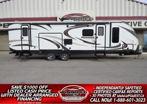 2014 Keystone RV BULLET PREMIER ULTRA LIGHT 32BHPR, BIG SLIDE BU