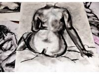 Life Drawing Class. Bournville. Birmingham
