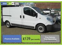 Vauxhall Vivaro 2900 CDTI SWB FACE LIFT MODEL EX BT VAN 6 SPEED DIESEL 07