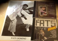 Fats Domino Original Autograph with 2 CDs