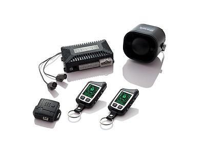 2 WAY FM TO FM LCD CAR ALARM REMOTE ENGINE STARTER CENTRAL LOCKING ULTRASONIC