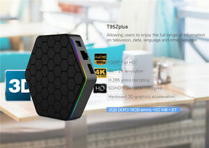 T95Z Plus Amlogic S912 Android TV BOX 2G/16G Media Player 2.4G&5 Kitchener / Waterloo Kitchener Area image 4