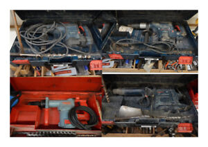 rotary hammer and chippers for sale at the 689r tool store