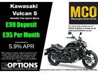 KAWASAKI VULCAN S 2018 MODEL METALLIC FLAT SPARK BLACK