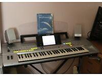 Tyros 1 Workstation Keyboard.