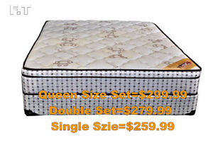 Supper Saving On Queen Size Euro Top mattresses and Box Peterborough Peterborough Area image 2