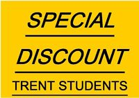 Won't Last! Trent Student Discount! H+H,Water,Parking Included!
