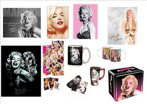 Marilyn Monroe plusieurs produits neuf et licencié