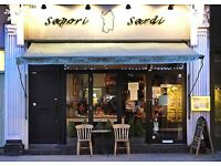 Chef de Partie required in a busy Italian Restaurant FULHAM