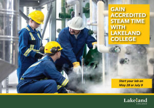 Accredited 4th Class Steam/Firing Time - 200 hr lab