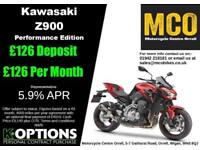 KAWASAKI Z900 PERFORMANCE EDITION CANDY PERSIMMON RED 2018 MODEL