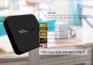 MXQ-4K Android Boxes
