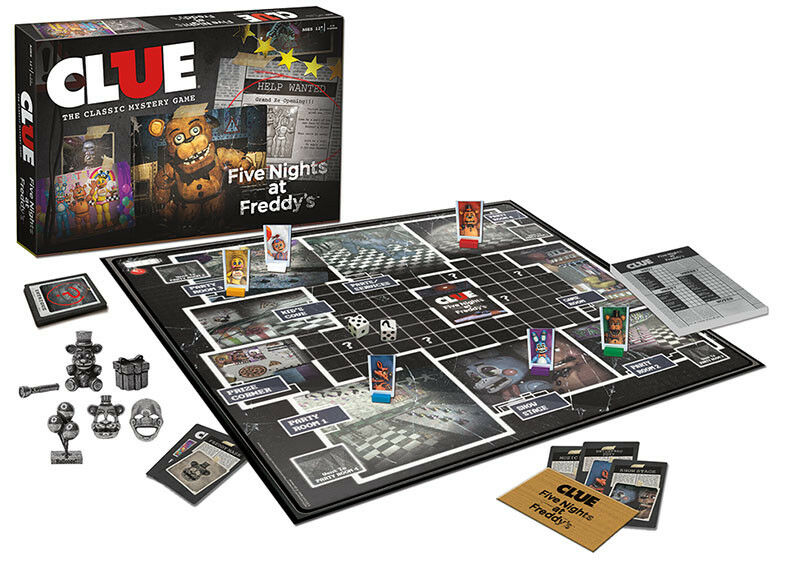 USAopoly CLUE®: Five Nights At Freddy's Board Game