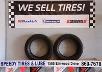 2 Good used 225/55/17 a/s Goodyear eagles for sale 110.00$