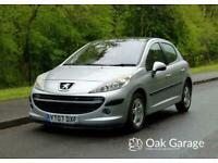 2007 Peugeot 207 1.4 SE 16V 5d 89 BHP Hatchback Petrol Manual