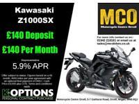 KAWASAKI Z1000SX 2018 MODEL METALLIC SPARK BLACK