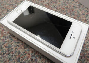iPhone 5s - 16gb - Silver/White
