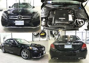Mercedes Benz C300 Sedan, Black, Intelligent auto Driving & Park