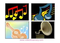 Music-Video production/Lesson: Online and In Room Video Show/DVD