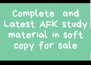 NDEB AFK NOTES FOR SALE