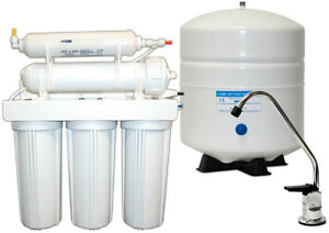 5-Stage (Reverse Osmosis) with installation for $425.
