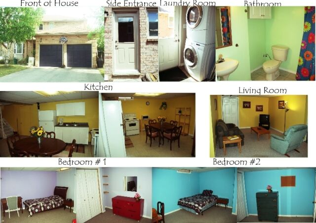 1-2 Lrg Large furnished rooms available in Welland for Student o