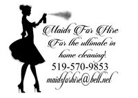 Home Cleaning Assistants, $15 to $18