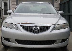 2004 Mazda 6 Sedan, 195,000km
