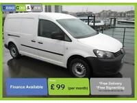 Volkswagen Caddy MAXI 1.6TDI (102PS) *ONLY 35K* EXTREMELY LOW MILES 2012